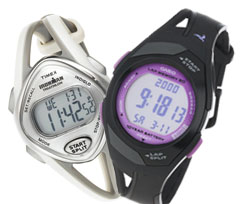 Женские спортивные наручные часы с секундомером, пульсометром и хронографом