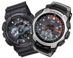 Мужские спортивные наручные часы с секундомером, пульсометром и хронографом